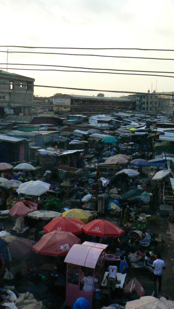 Kumasi Market. The largest market in West Africa. Bloody mental!